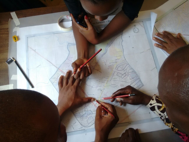 Ramani Huria -- a community mapping project