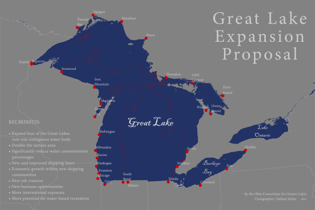 'Great Lake Expansion Proposal' by Nathan Saylor