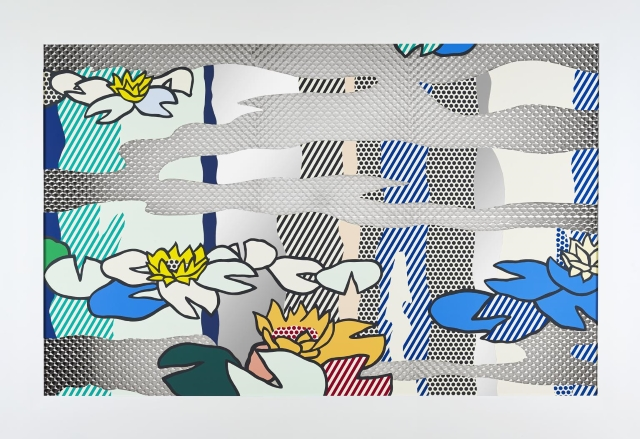 'Water Lily Pond Reflections' by Roy Lichtenstein