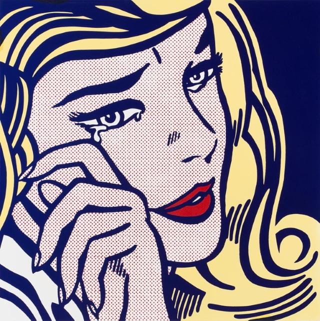'Crying Girl' by Roy Lichtenstein