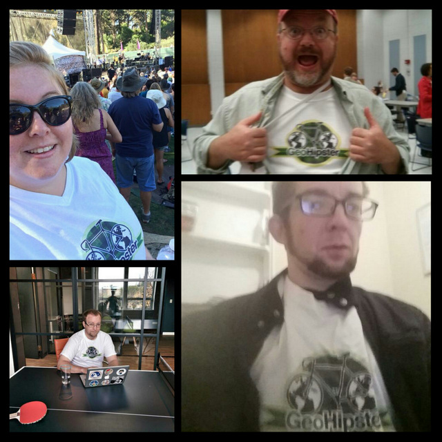 GeoHipster sightings: San Francisco, CA; Knowville, TN; Burlington, VT; Cleveland, OH