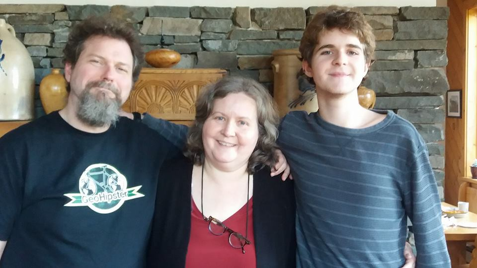 Dave Smith and family in the Poconos